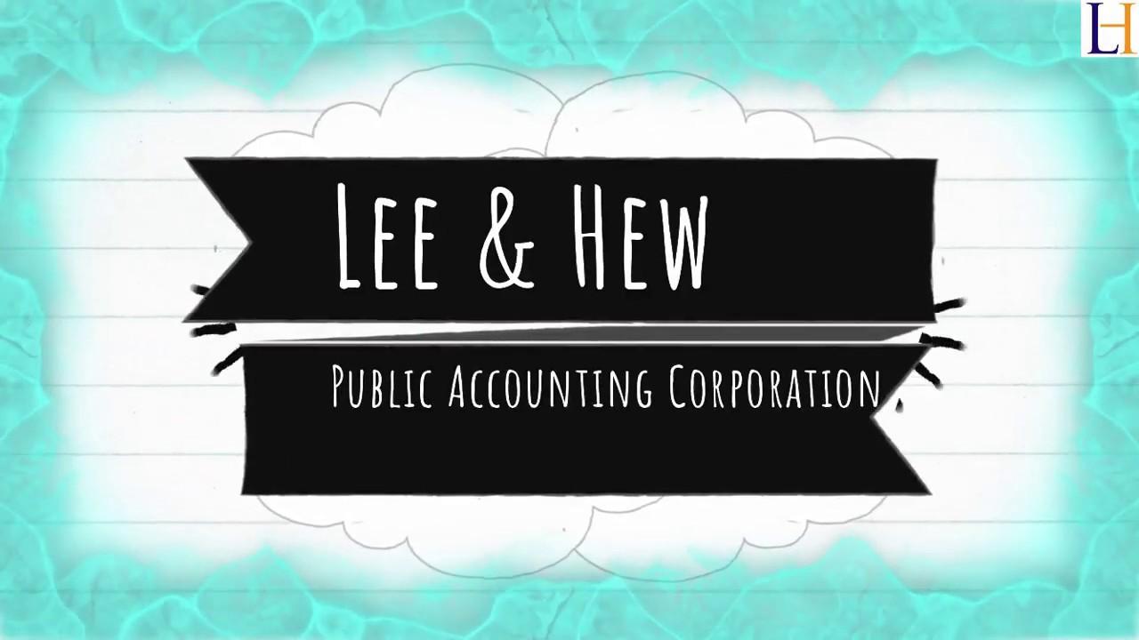 Lee & Hew-ETL: International Audit,Tax & Accounting Firm in Singapore
