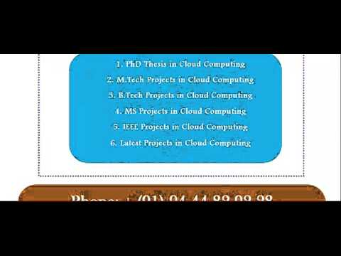 research papers on cloud computing