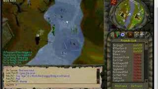 Standing on Water on Runescape