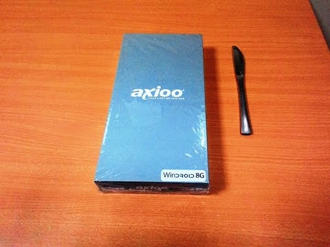 Unboxing Axioo Windroid 8G