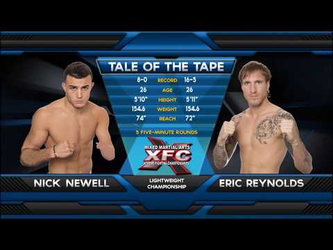 Fight of the Week: Nick Newell Battles Eric Reynolds at XFC 21