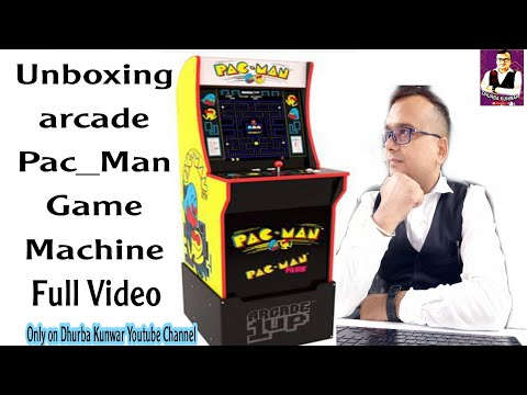 Pac_Man Arcade1up Unboxing Arcade Machine and fixing ।। #arcademachine #games #supermariogame from Dhruv Kunwar