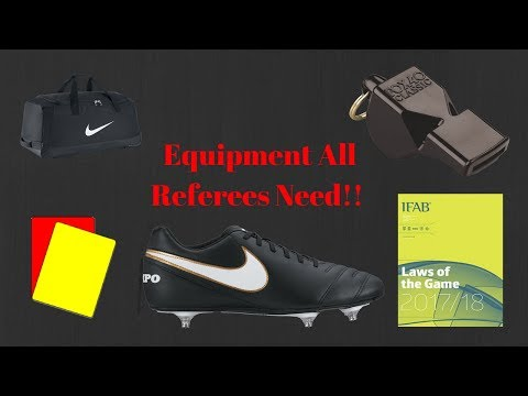 The Equipment Every Football Referee Needs | My Refereeing Gear | Football Refereeing Tips