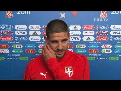 Aleksandar MITROVIC (Serbia)  - Post Match Interview - MATCH