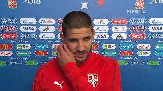 aleksandar mitrovic serbia  - post match interview - match 10