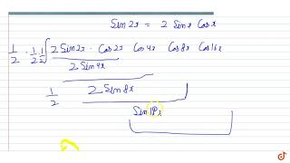 The value of `int (sinx cosx cos2x cos4x cos8x cos16x) dx` is equal to