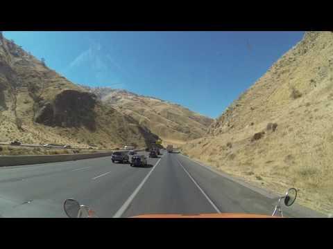 Driving on i5 California