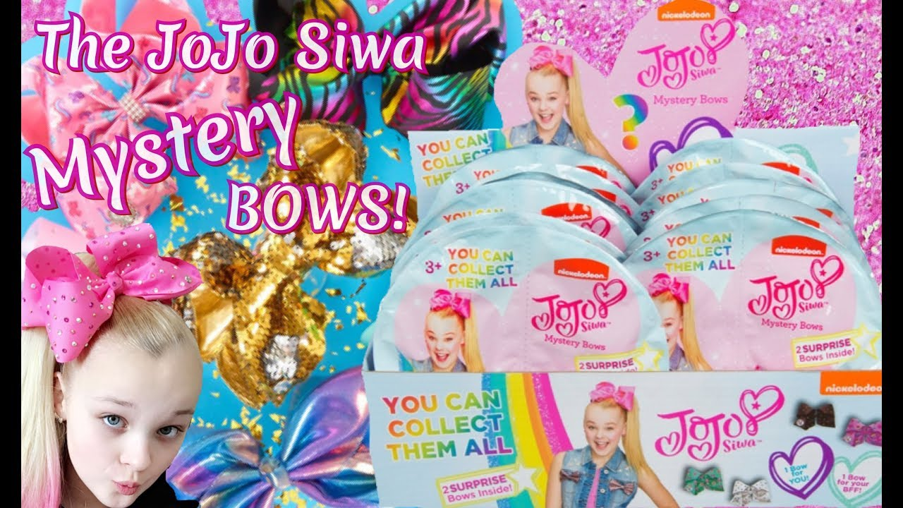JoJo Siwa Mystery Blind Bag Mini Bow X 4