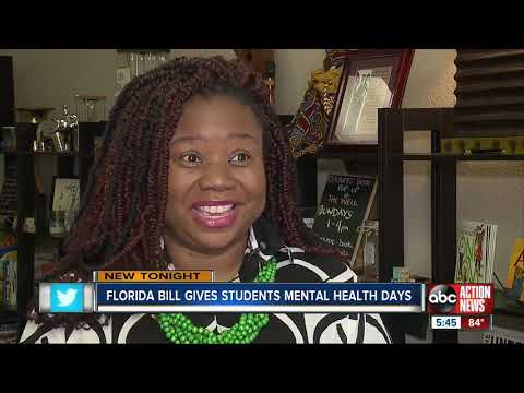Mychal Maguire - Potential Florida Bill Gives Students Mental Health Days Off Of School