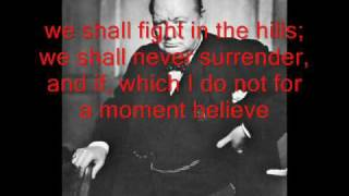 Winston Churchill - We Shall Fight them on the beaches