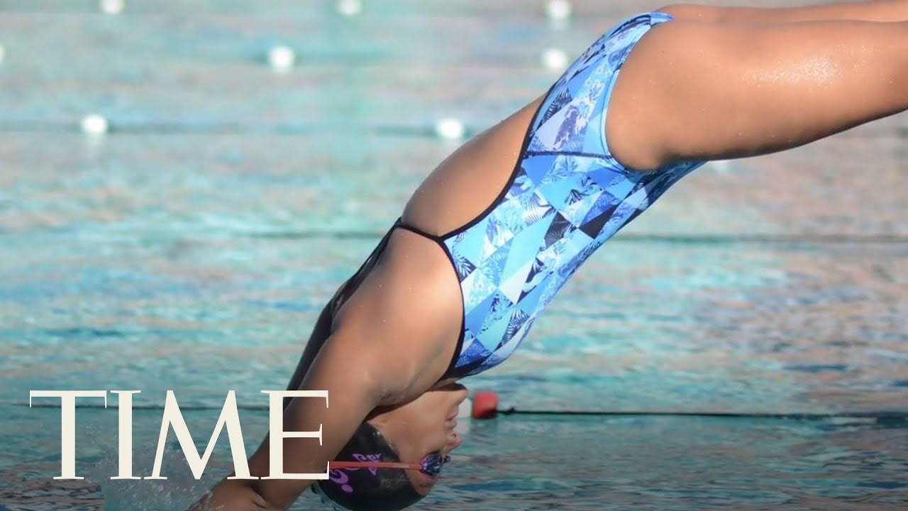 Teen S Swim Meet Victory Reinstated On After She Was Disqualified Over A Swimsuit Wedgie Time Youtube
