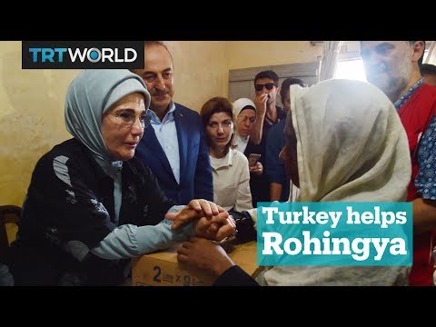 Turkey's humanitarian aid to Rohingya