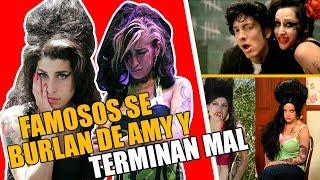 FAMOSOS SE BURLARON DE AMY WINEHOUSE Y TERMINARON MAL