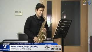 Diego Mateo Iriarte – Etude Ferling 25