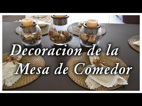 Como decorar la mesa de comedor de mi casa facil for Como decorar mi casa