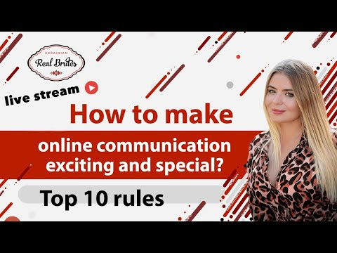 How to make your online communication exciting and special? Top 10 rules from YouTube · Duration:  40 minutes 44 seconds