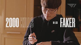 Faker Gets His 2000th Kill in LCK  | T1 2020