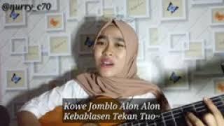 "Gambar cover Lagi baru by nurry Lagu mundur alon""jadi lagu jomblo alon"""