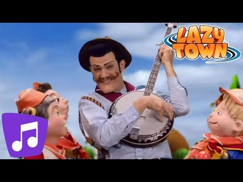 Lazy Town | Lazy Scouts Music Video