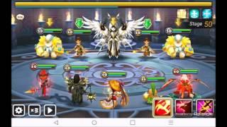 Summoners War - TOA Hard 50 Artamiel, Wind Monkey King and Light Yeti