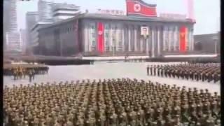 Военный парад КНДР 15.04.2012 г.в Пхеньяне. 100 лет Ким Ир Сену.