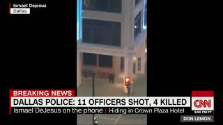 ***Dallas Police Shooting Video Released Of One Suspect Exchanging Gunfire!!