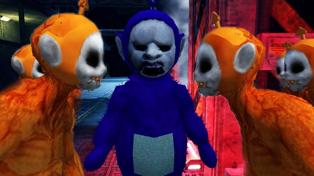 the-huge-cave-monster-slenytubbie-vs-the-ghost-girl-slendytubbies-3-sandbox-vs