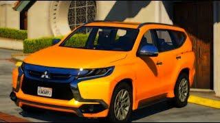 GTA V - Vida Real: UBER#7 |  Mitsubishi Pajero Sport