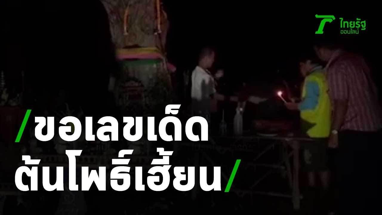 ปชช. แห่ขอเลขเด็ดต้นโพธิ์เฮี้ยน | 30-06-63 | ข่าวเย็นไทยรัฐ