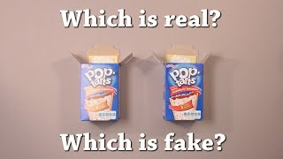 Fun Test: Which is Real? Kellogg
