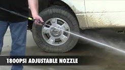 PULSAR Electric Pressure Washer_How to assemble and use (No Logos)