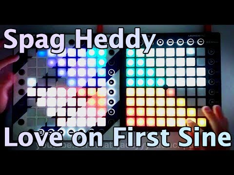 Spag Heddy - Love on First Sine (1K Special) [Launchpad PRO+MK2 Project File]