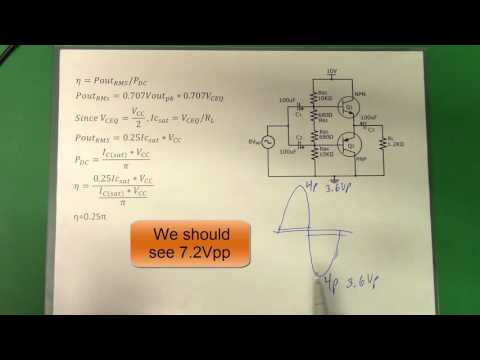 35. Class B and Class AB Amplifiers