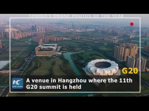A drone's-eye view: aerial moments of China 2016