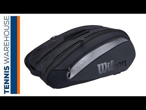 Wilson Federer DNA 12 Pack Tennis Bag
