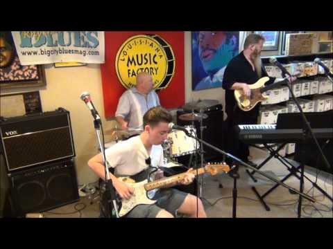 BLUES CRUISE FEST @ Louisiana Music Factory 2015 - QUINN SULLIVAN