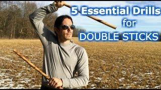vuclip 5 Essential Double Sticks Escrima Drills