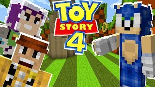Minecraft Sonic The Hedgehog - Toy Story 4 Woody And Buzz Save Sonic! [30]