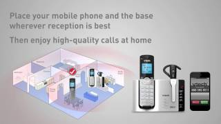 VTech® DS6671-3 Connect to Cell™ Cordless Phone System