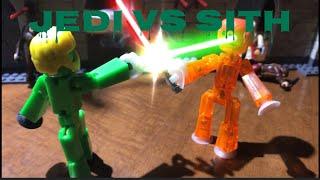 Bot Wars: Jedi Vs Sith | #Stikbot