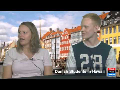 Danish Students in Hawaii - Mie Frost and Nicolai Jeppesen