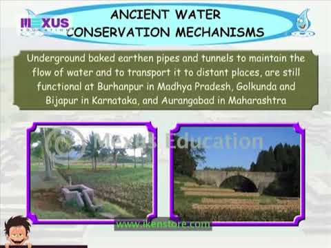 Ancient Methods ofWater Conservation