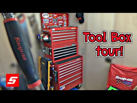 Tool Box Tour 2017! Snap on tools!