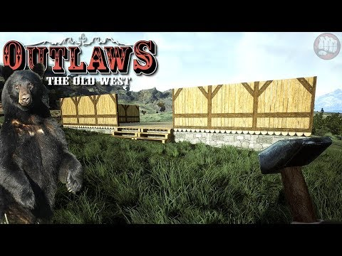 Plank Barn and Bears | Outlaws of the Old West Gameplay | S1 EP11