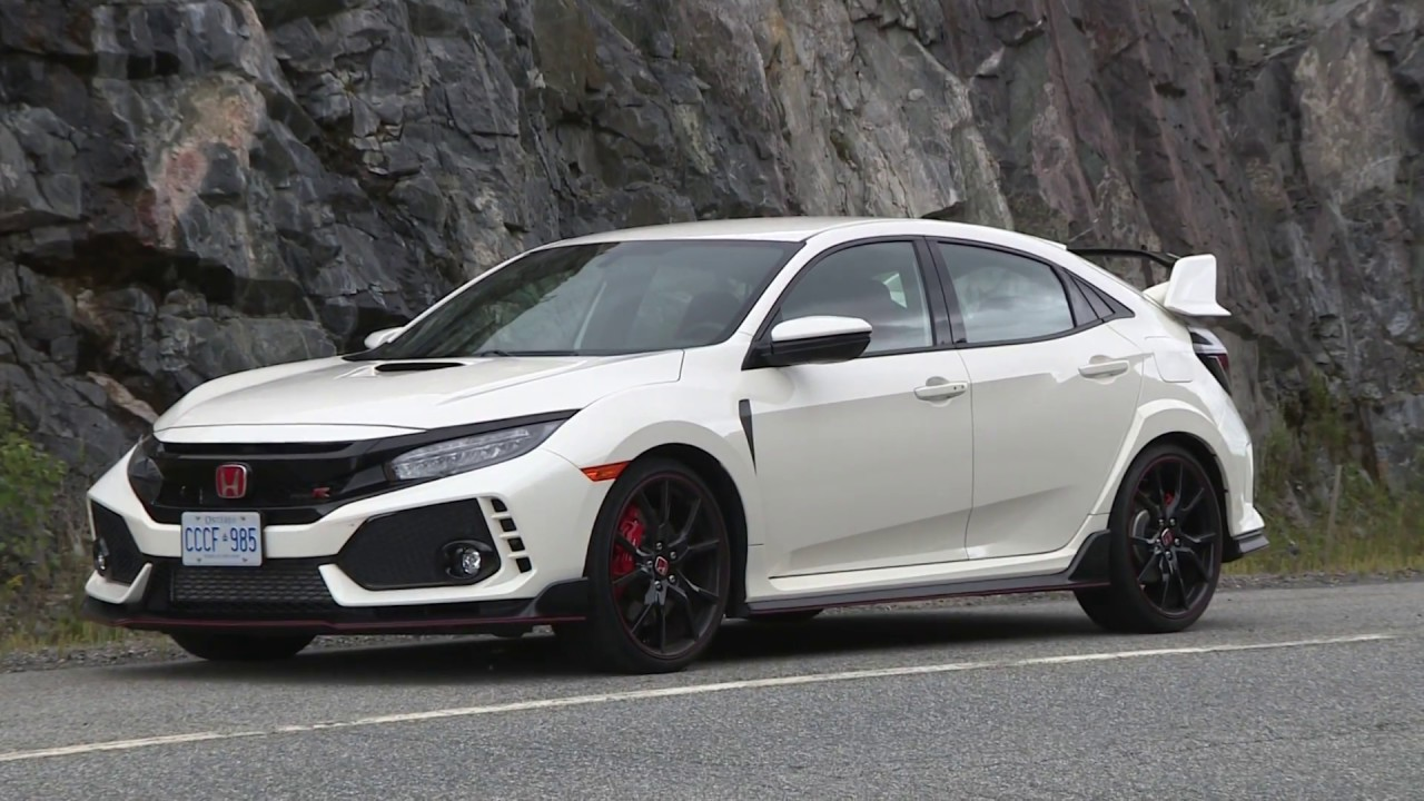 2017 Honda Civic Type R Test Drive Review - YouTube