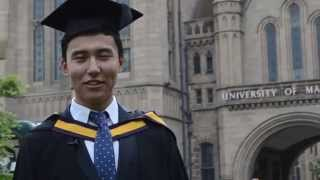 INTO Manchester Alumnus Graduation at The University of Manchester - Berik Uap
