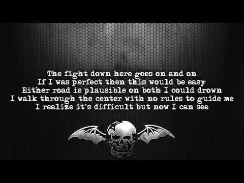 Avenged Sevenfold - Crossroads [Lyrics on screen] [Full HD]