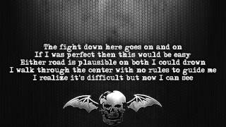 Avenged Sevenfold - Crossroads [Lyrics on screen] [Full HD]