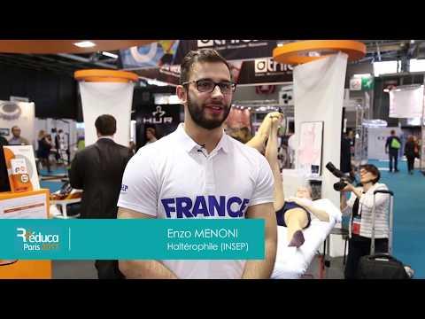 Interview de Enzo Menoni - Rééduca Paris 2017