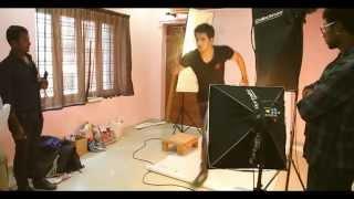 Karthikeya Movie Posters Making - Nikhil, Swathi Romance